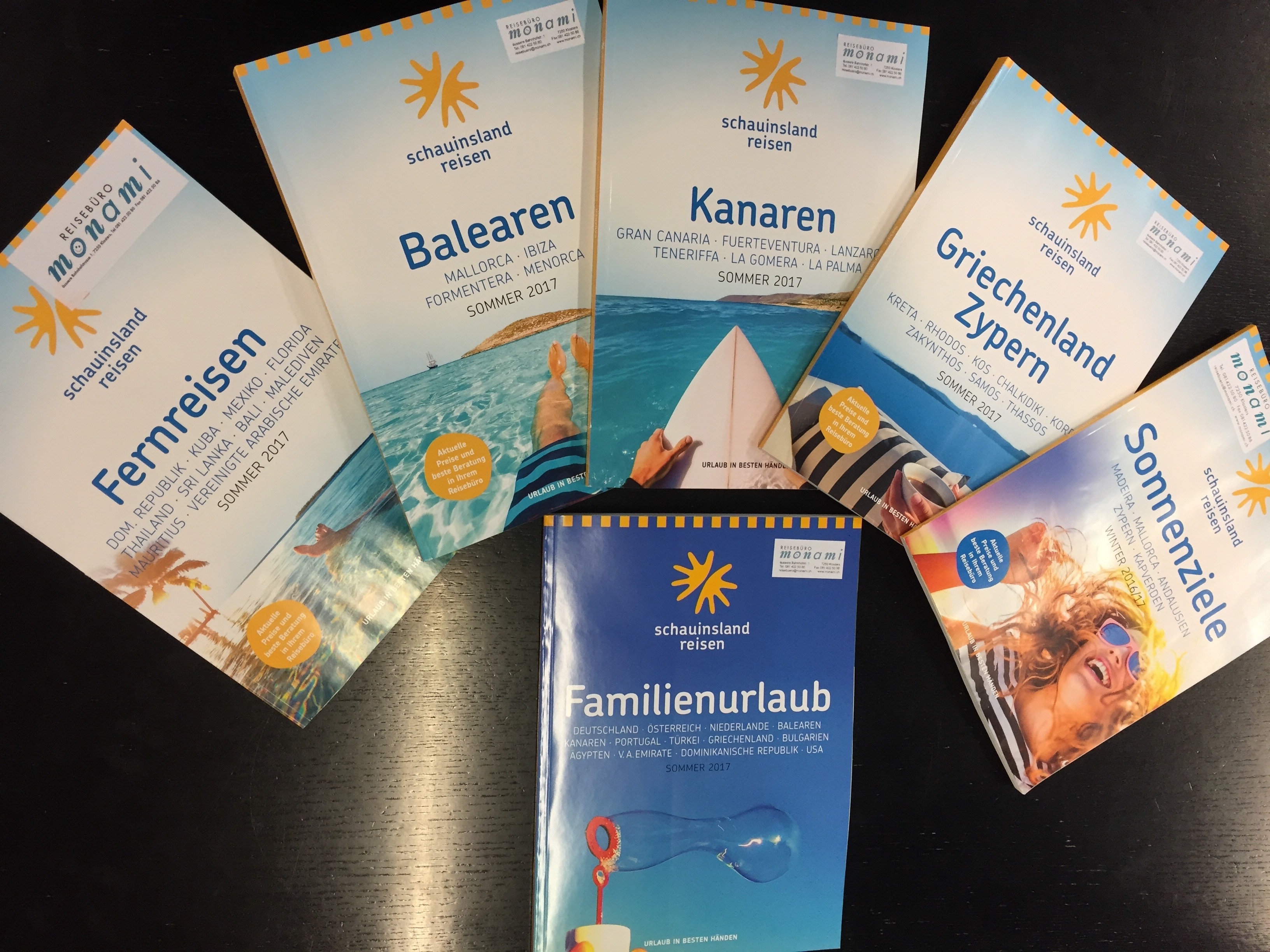 Reise-Kataloge