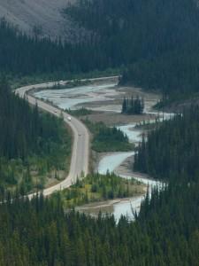 Kanada Strasse Fluss