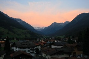 Klosters am Abend