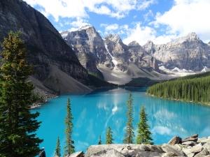 Landschaft Kultur-Banff NP-Morraine Lake