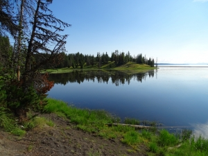 Landschaft Kultur-Yellowstone Lake
