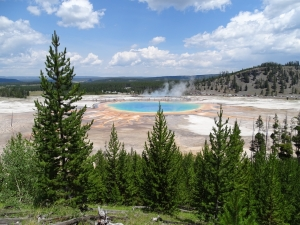 Landschaft Kultur-YellowstoneNP-Grand Prismatic Basin