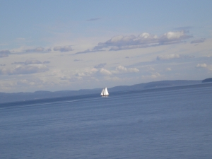 Segelschiff - Southern Gulf Islands
